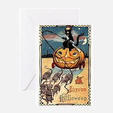 Joyous Halloween Greeting Card