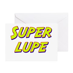 Super lupe Greeting Cards (Pk of 10)