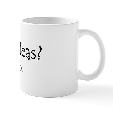 got fleas Mug