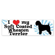 I Love My Soft Coated Wheaten Bumper Bumper Sticker