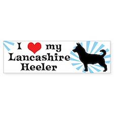 I Love My Lancashire Heeler Bumper Bumper Sticker