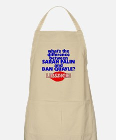 Quayle with Lipstick BBQ Apron