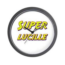 Super lucille Wall Clock