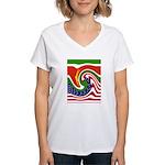 SURINAME Women's V-Neck T-Shirt
