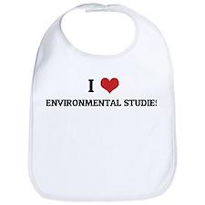 I Love Environmental Studies Bib
