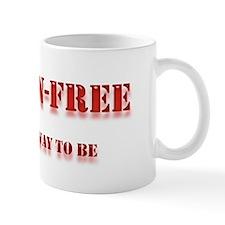 GLUTEN-FREE THE ONLY WAY TO B Mug