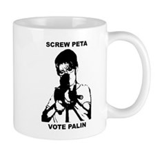 Sarah Palin-Screw Peta Mug