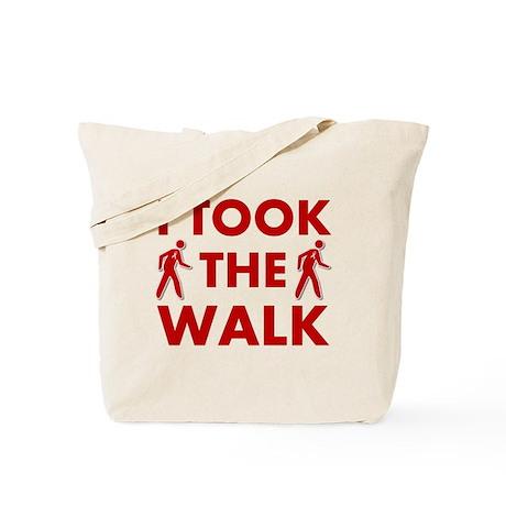 I Took The Walk Tote Bag