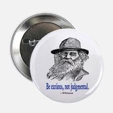 """WHITMAN QUOTE 2.25"""" Button (10 pack)"""