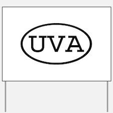 UVA Oval Yard Sign
