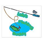 Lolo's Fishing buddy Small Poster
