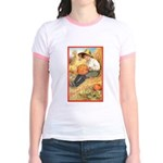 Pumpkin Carving Jr. Ringer T-Shirt