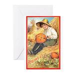 Pumpkin Carving Greeting Cards (Pk of 10)