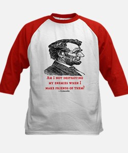 LINCOLN ENEMIES QUOTE Tee