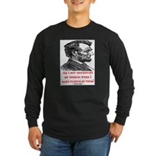 LINCOLN ENEMIES QUOTE T