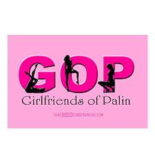 Girlfriends of Palin Postcards (Package of 8)
