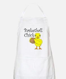 Basketball Chick BBQ Apron