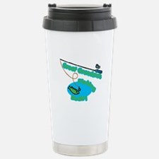 Great Grandma's Fishing Buddy Travel Mug
