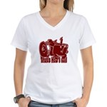 Retro That's How I Roll Tract Women's V-Neck T-Shi
