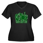 Retro That's How I Roll Tract Women's Plus Size V-