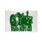 Retro That's How I Roll Tract Rectangle Magnet (10