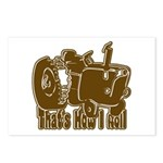 Retro That's How I Roll Tract Postcards (Package o