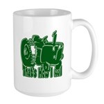 Retro That's How I Roll Tract Large Mug