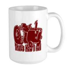 Retro That's How I Roll Tract Mug