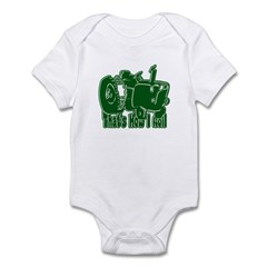 Retro That's How I Roll Tract Infant Bodysuit