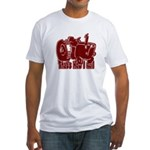 Retro That's How I Roll Tract Fitted T-Shirt