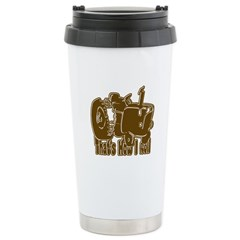 Retro That's How I Roll Tract Travel Mug