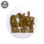"Retro That's How I Roll Tract 3.5"" Button (10"