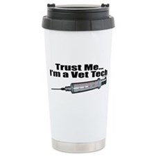Trust Me I'm A Vet Tech Travel Mug