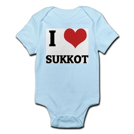 I Love SUKKOT Infant Creeper