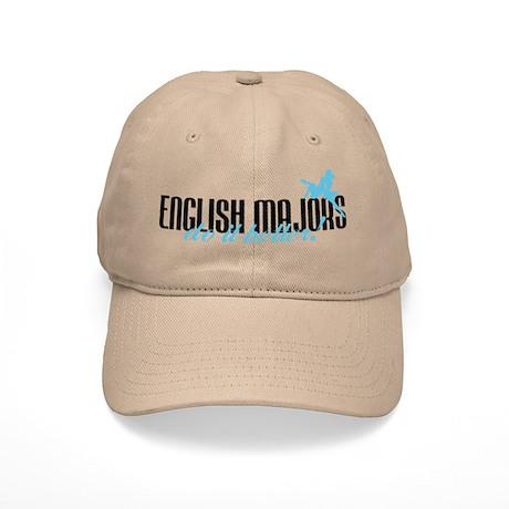 English Majors Do It Better! Cap