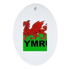 Wales Oval Ornament
