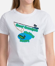 Great Grandpa's Fishing Buddy Tee