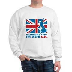 I'm With UK Sweatshirt