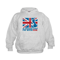 I'm With UK Hoodie