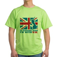 I'm With UK T-Shirt