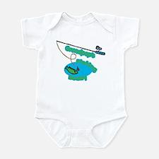 Grandpop's Fishing Buddy Infant Bodysuit