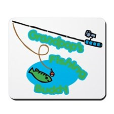Grandpop's Fishing Buddy Mousepad