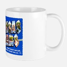 Arkansas Ozarks Greetings Mug
