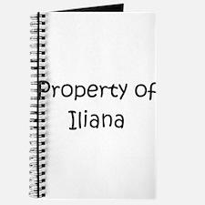 Unique Iliana Journal