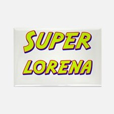 Super lorena Rectangle Magnet