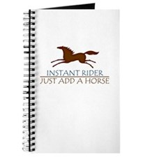 Instant Rider Add A Horse Journal