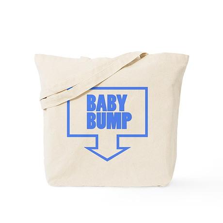 BABY BUMP BABY BLUE Tote Bag