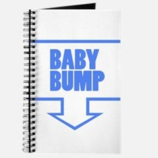 BABY BUMP BABY BLUE Journal