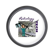 radiology Wall Clock