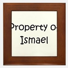 Cool Ismael Framed Tile
